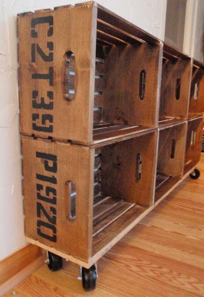 Cajones de madera reciclados - Cajones de madera ...