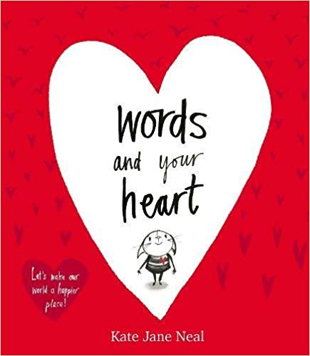 Picture book to share with your students on Valentine's Day about how words affect our hearts.