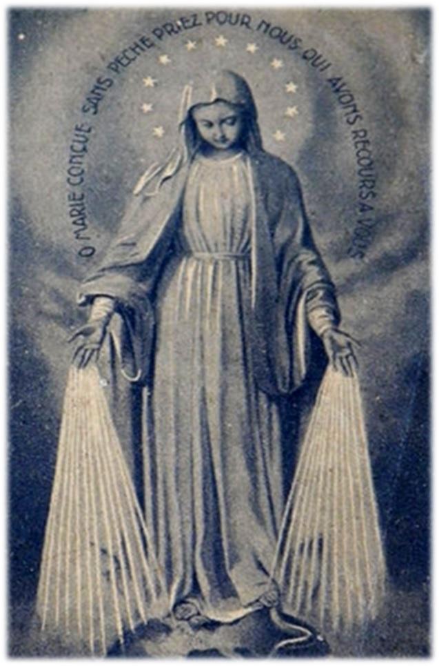 A La Virgen De La Medalla Milagrosa Para Peticiones De