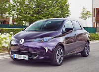 2018 Renault ZOE (Credit: Renault) Click to Enlarge.