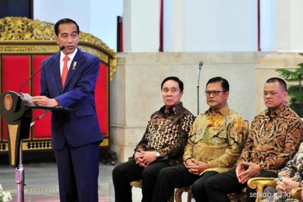 Gatot Nurmantyo Hadiri Pertemuan dengan Jokowi di Istana