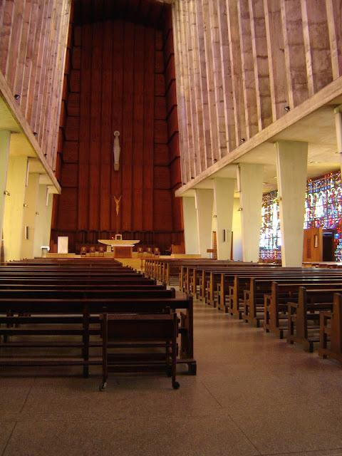 Kościół Notre Dame de Lourdes w Casablance