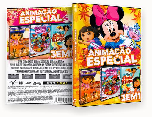 ANIMAÇÃO ESPECIAL 3 EM 1 – ISO CAPA DVD