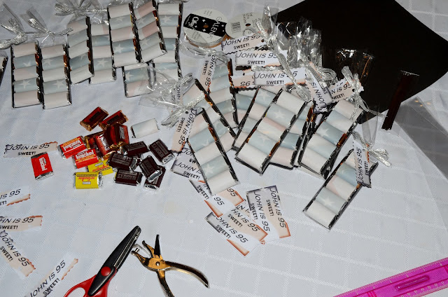 Grown up birthday party favors