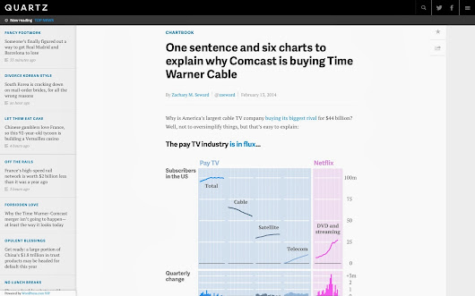 Change (Cable)b Tv. Perchè Comcast compra Time warner Cable