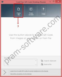 Membaca QR Code dari File