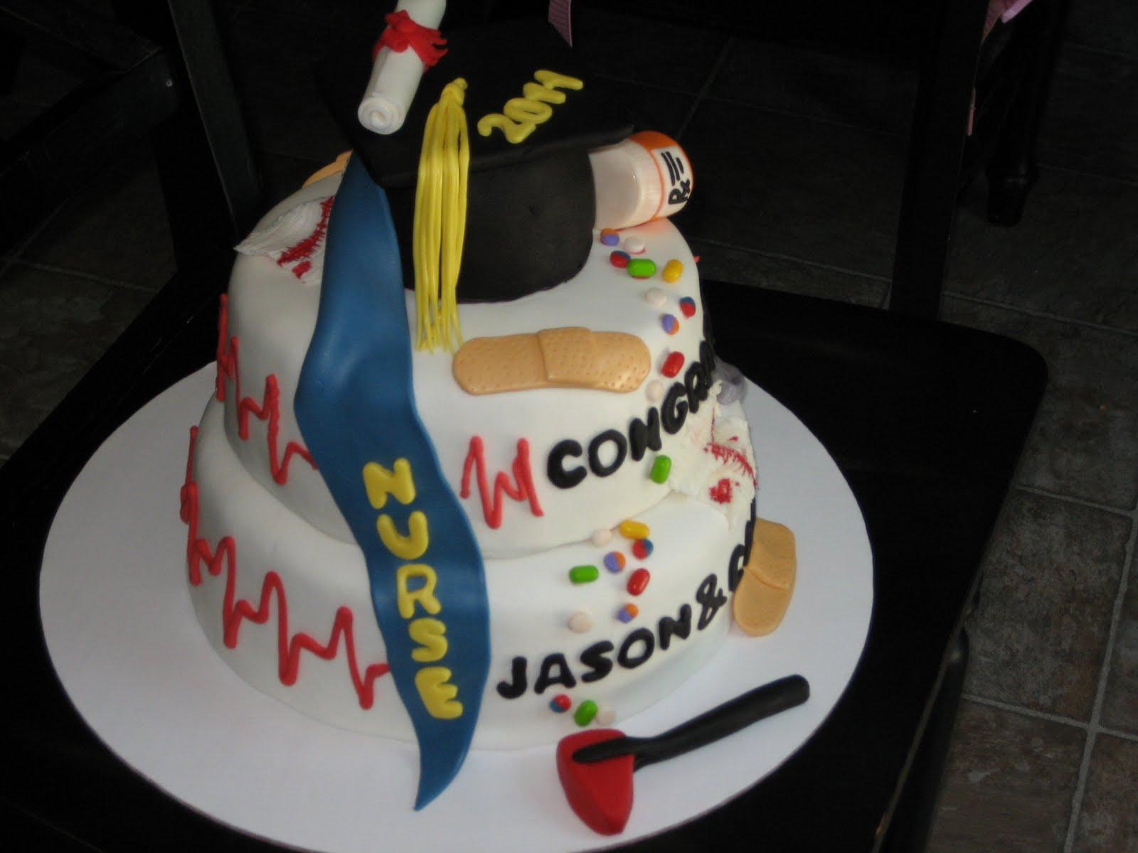 Pin Nursing Graduation Cakes Ideas Picture Cake