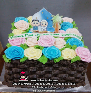 Kue Tart Cantik Idul Fitri