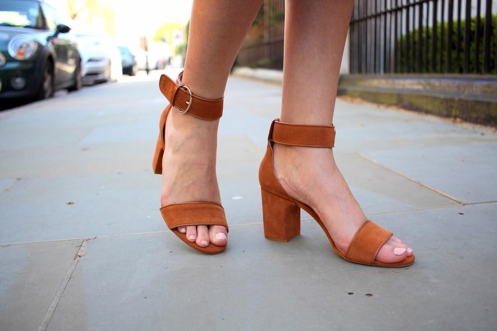 office shoes block heel sandals
