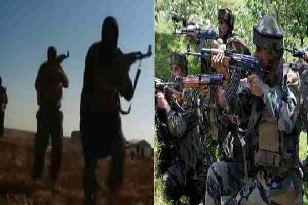 हंदवाड़ा में घुसे तीन पाकिस्तानी आतंकी, पुलिस और सेना ने मिलकर कर दिया काम तमाम