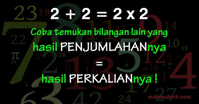 tebak tebakan logika matematika