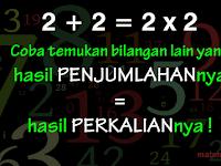 Tebak Tebakan Matematika Sederhana