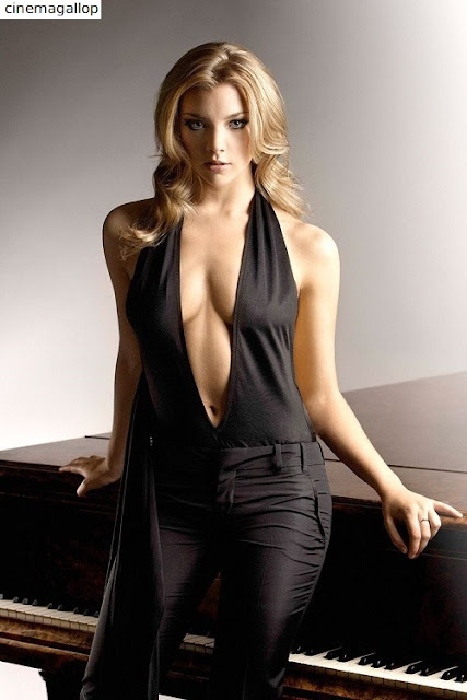 tumblr o979f9zVoy1v9uo6uo1 500 - Natalie Dormer Hot Bikini Photoshoot(HD)-60 Most Sexiest Cleavage Pictures of Game Of Thrones fame Seduces Us Atmost