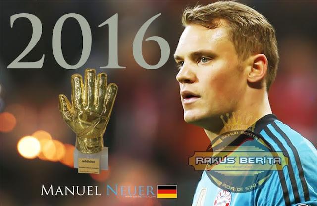 Kiper Bayern Munchen, Manuel Neuer Mengembat Gelar Kiper Terbaik di 2016
