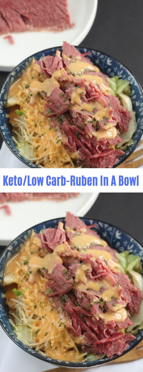Keto/Low Carb Ruben In A Bowl