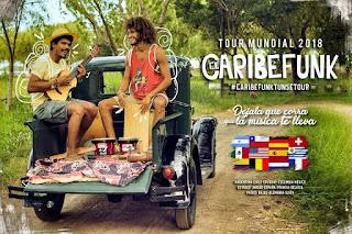 Concierto de CARIBEFUNK en Bogotá 2018