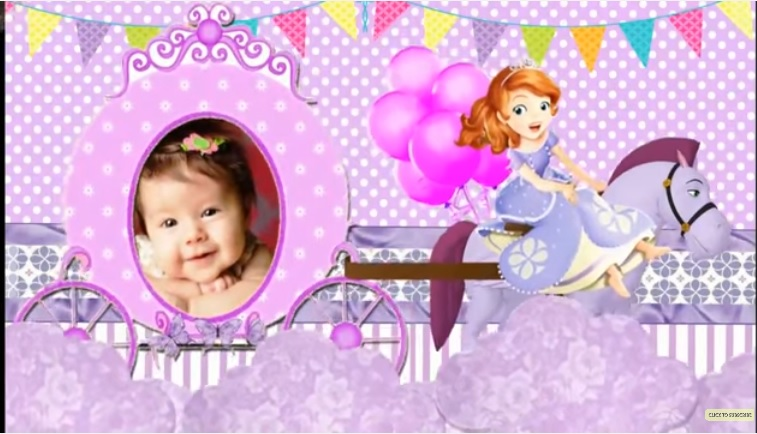 Sofia princess theme whatsapp birthday invitation for girl sop001 and their special days are more special for us so make their special days more special with their favorite themes make your kids birthday party stopboris Images