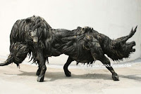 Amazing Sculptures made with Unusual Tyres by Korean Sculptor Yong Ho Ji