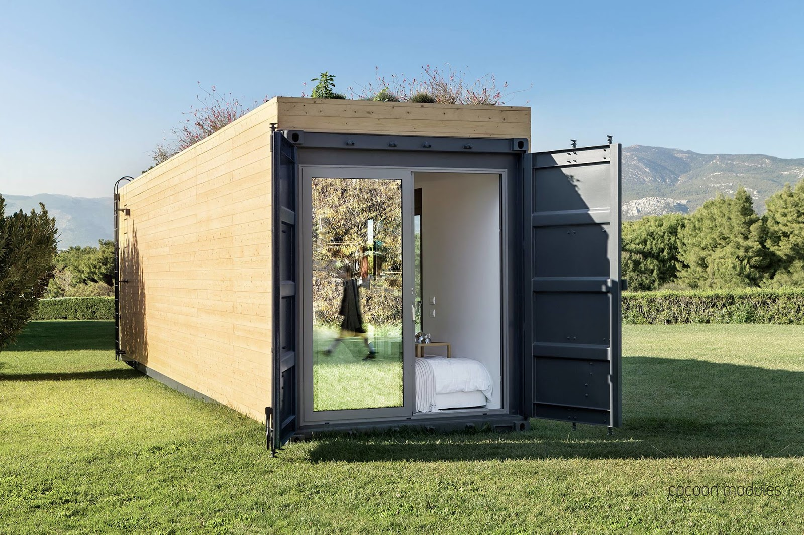 Architekt Container Haus Tiny House Town Cocoon Module Shipping Container Home