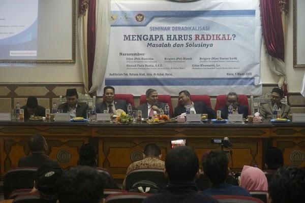 Adakan Seminar Deradikalisme bersama BNPT, PCINU Mesir: 12 % Masisir Tertarik Paham Radikalisme