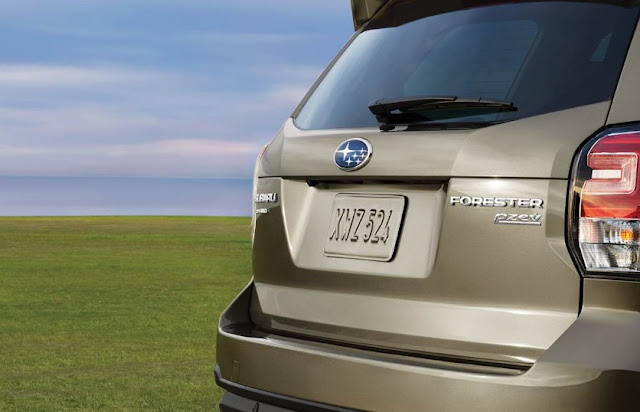 2017 Subaru Forester release date