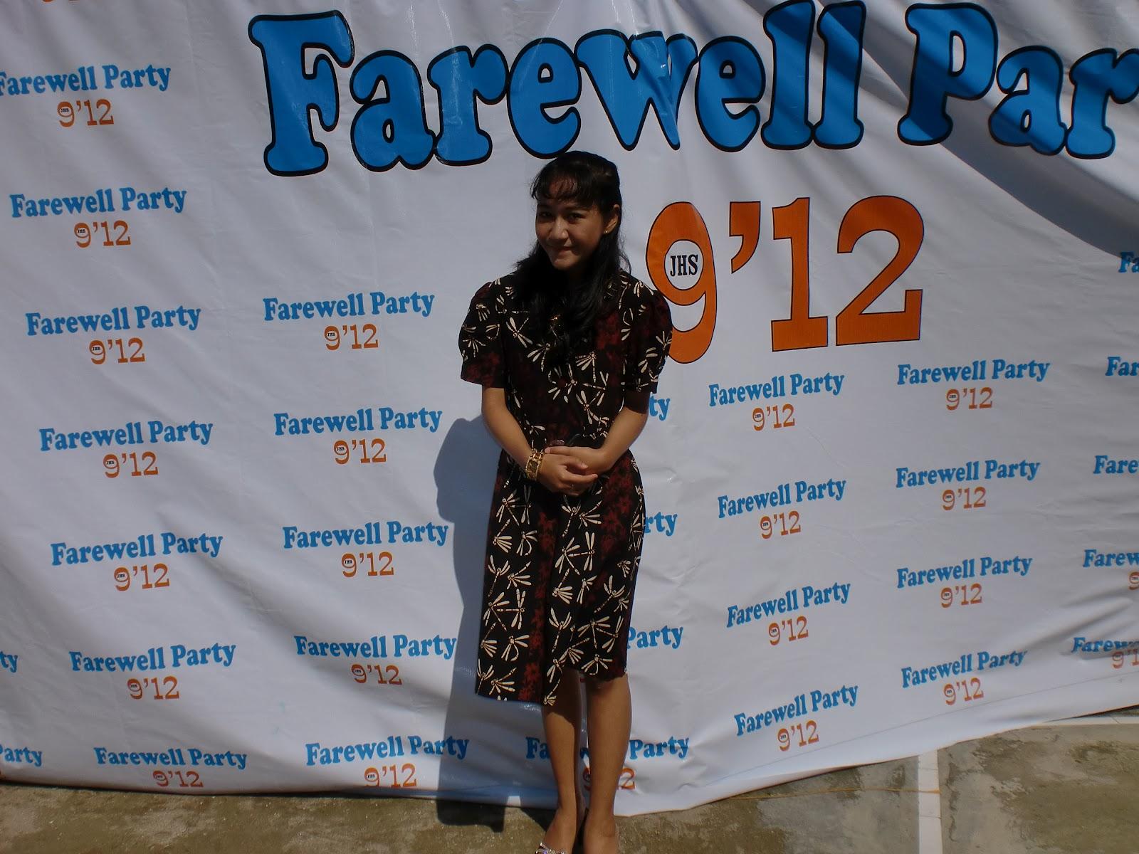 Septia Nurhaliza Farewell Party