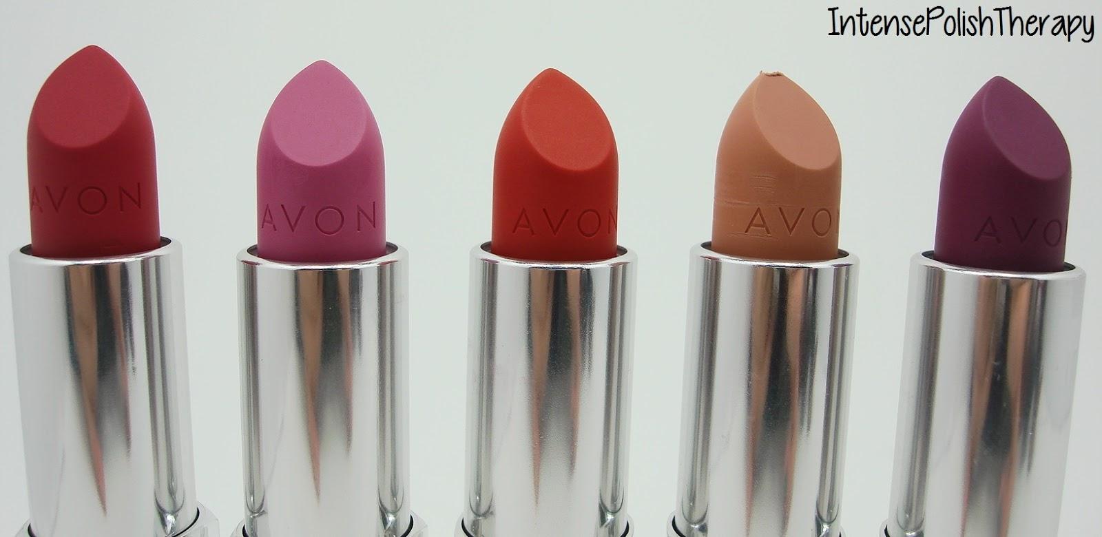 Intense Polish Therapy Avon Perfectly Matte Lipstick