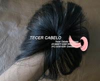 Prótese ou miolo para perucas de cabelo humano