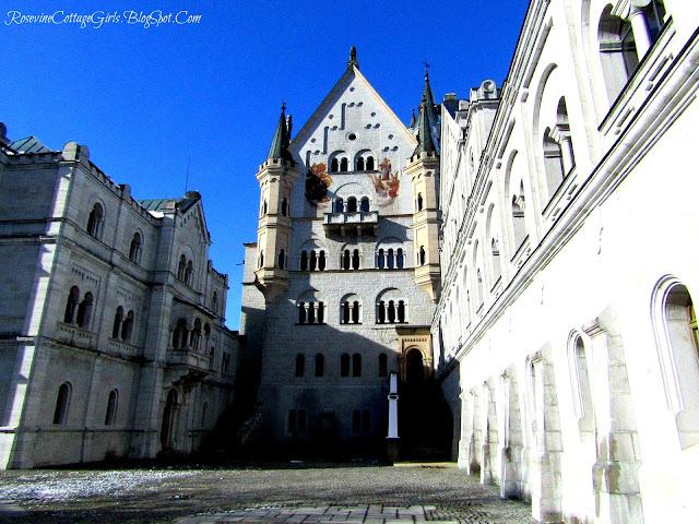 Bavaria Alps Germany Sleeping Beauty's Castle