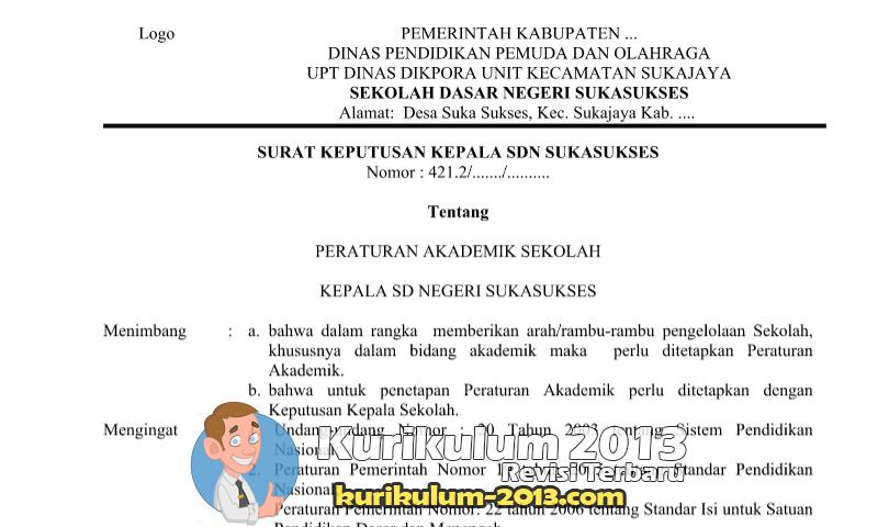 Download Contoh Peraturan Akademik Sekolah - Peraturan Akademik