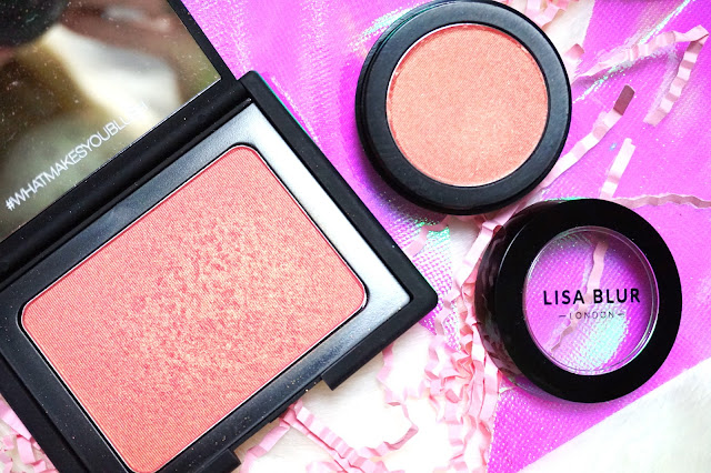 Lisa Blur Blush and NARS Orgasm