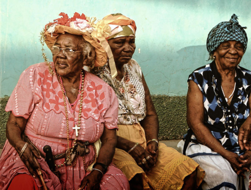 Afro honduran women