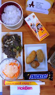 Bento Ramadan A jadi menu baru di HokBen