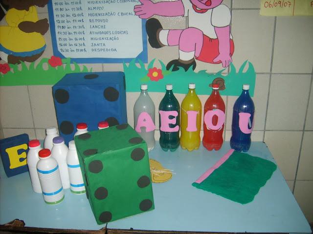 A Importância dos Brinquedos Pedagógicos feitos de Sucata