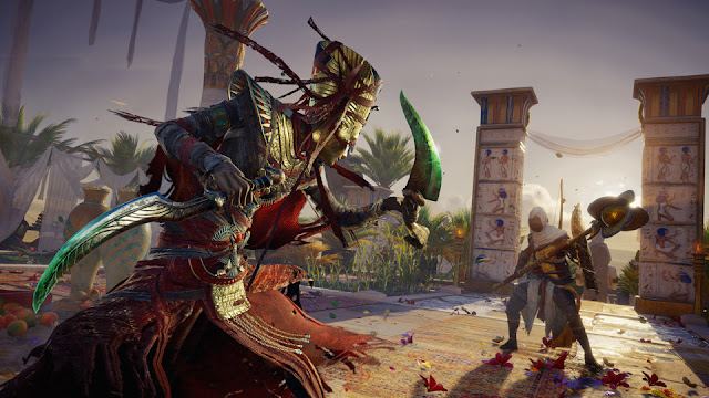 Review Drops - Assassin's Creed Origins: Os Ocultos e A Maldição dos Faraós