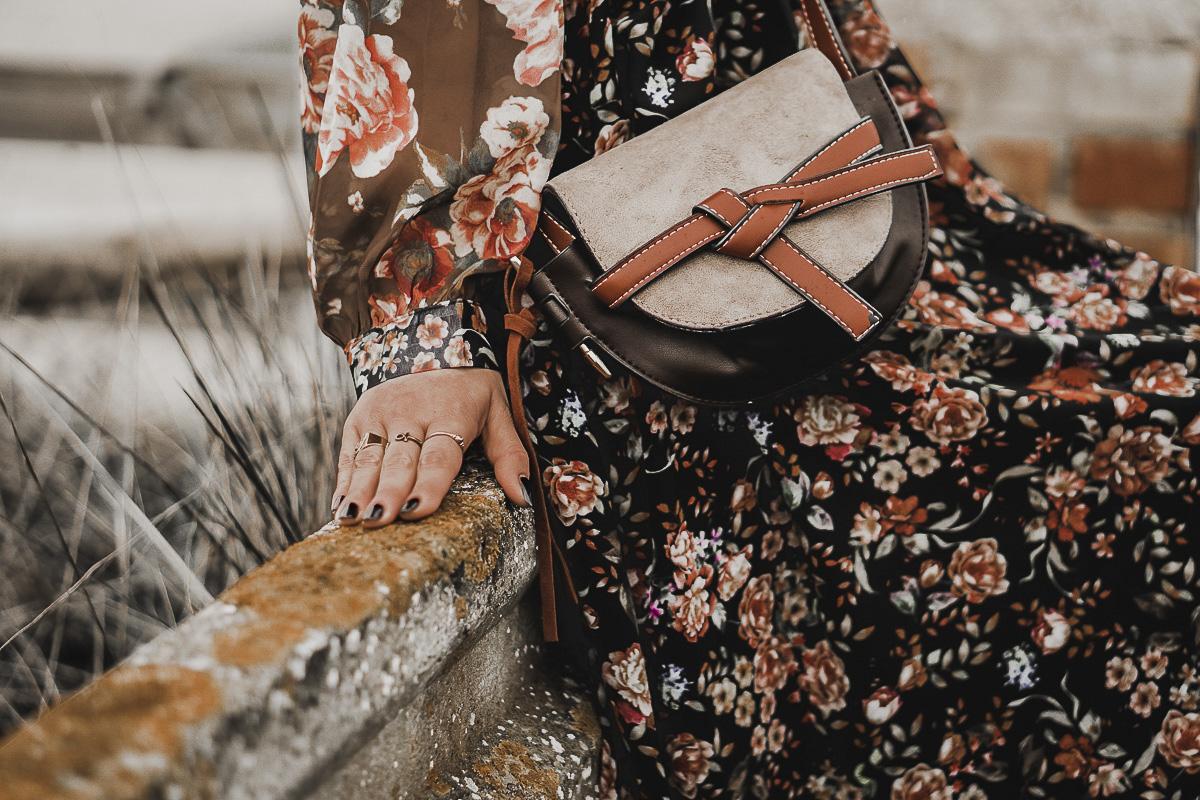 vestido de flores - tendencia primavera 2019