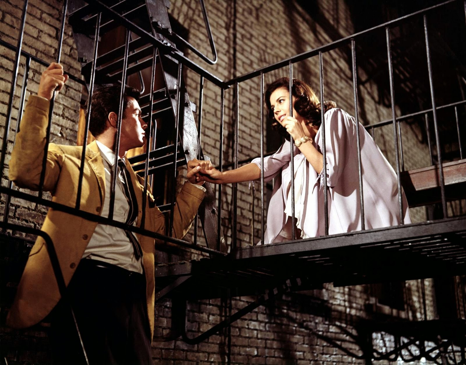 West Side Story está protagonizada por Natalie Wood y Richard Beymer