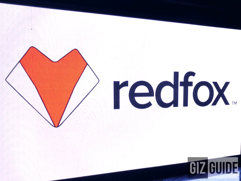 Full view of the new Redfox logo