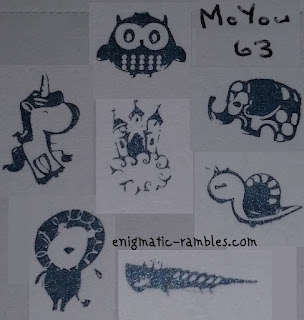 Review-MoYou-63-Stamping-Plate-Unicorn-Animal