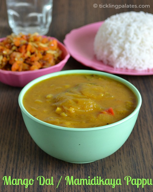 Dal with Mango for rice