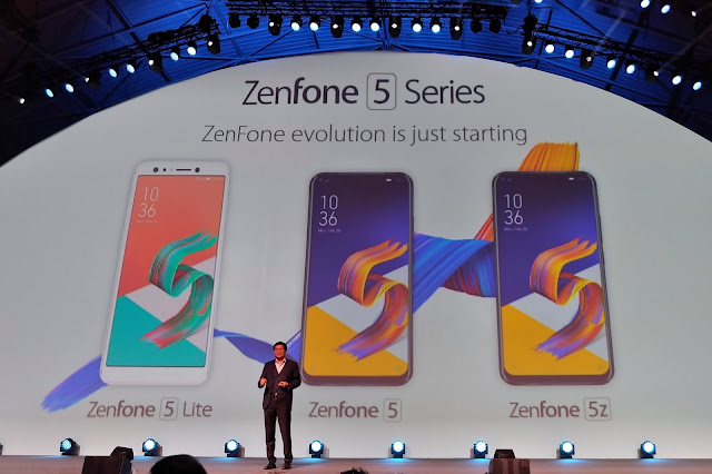 Perkenalkan Zenfone Generasi ke-5 di MWC