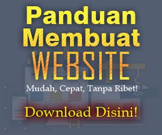 JUAL PANDUAN MEMBUAT WEBSITE SALES PAGE DLL