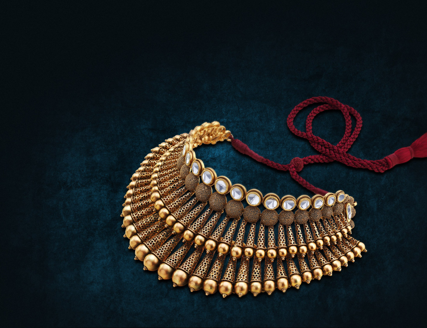 best gold jewellery in India, choker necklace, Gold Jewellery Indian beauty blogger, Hazoorilal
