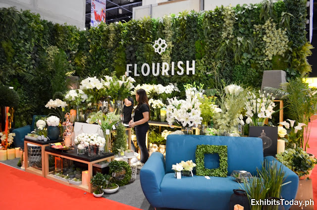 Flourish exhibit booth