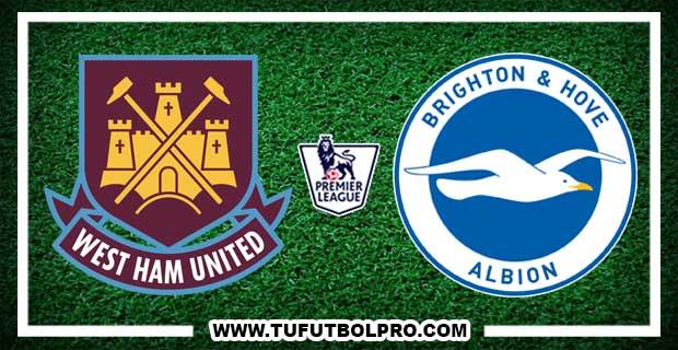 Ver West Ham vs Brighton EN VIVO Por Internet Hoy 20 de Octubre 2017