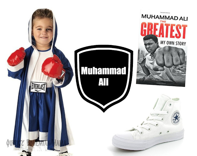 boys todder Muhammad Ali Halloween Black History Month Costume