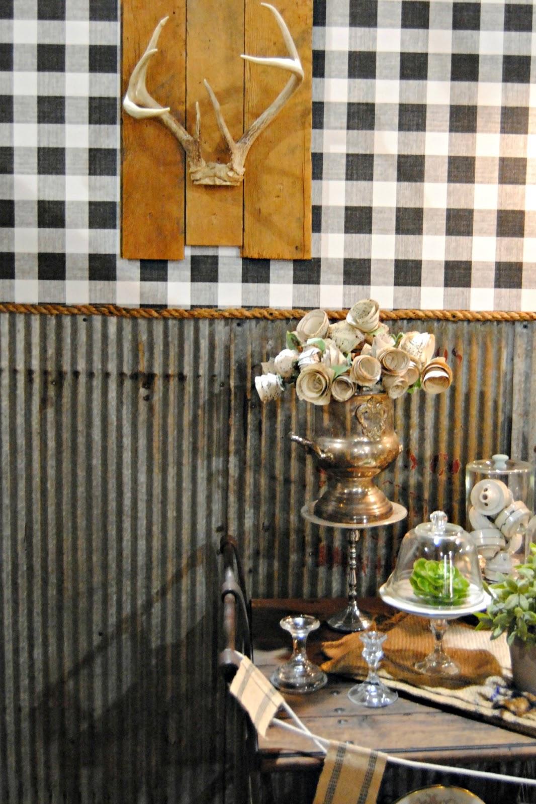 corrugated steel chair rail white eiffel philadelphia home show 2013