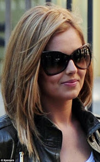 Cheryl Cole Stepped Out At Her 28th Birthday Bash Sporting A Gorgeous Honey Blonde Bob After Removing Those Extensions And Chopping Back Brunette Locks