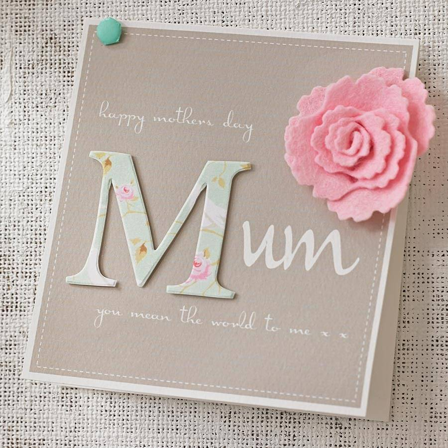 mothers day cards ideas to make templates for kids. Black Bedroom Furniture Sets. Home Design Ideas