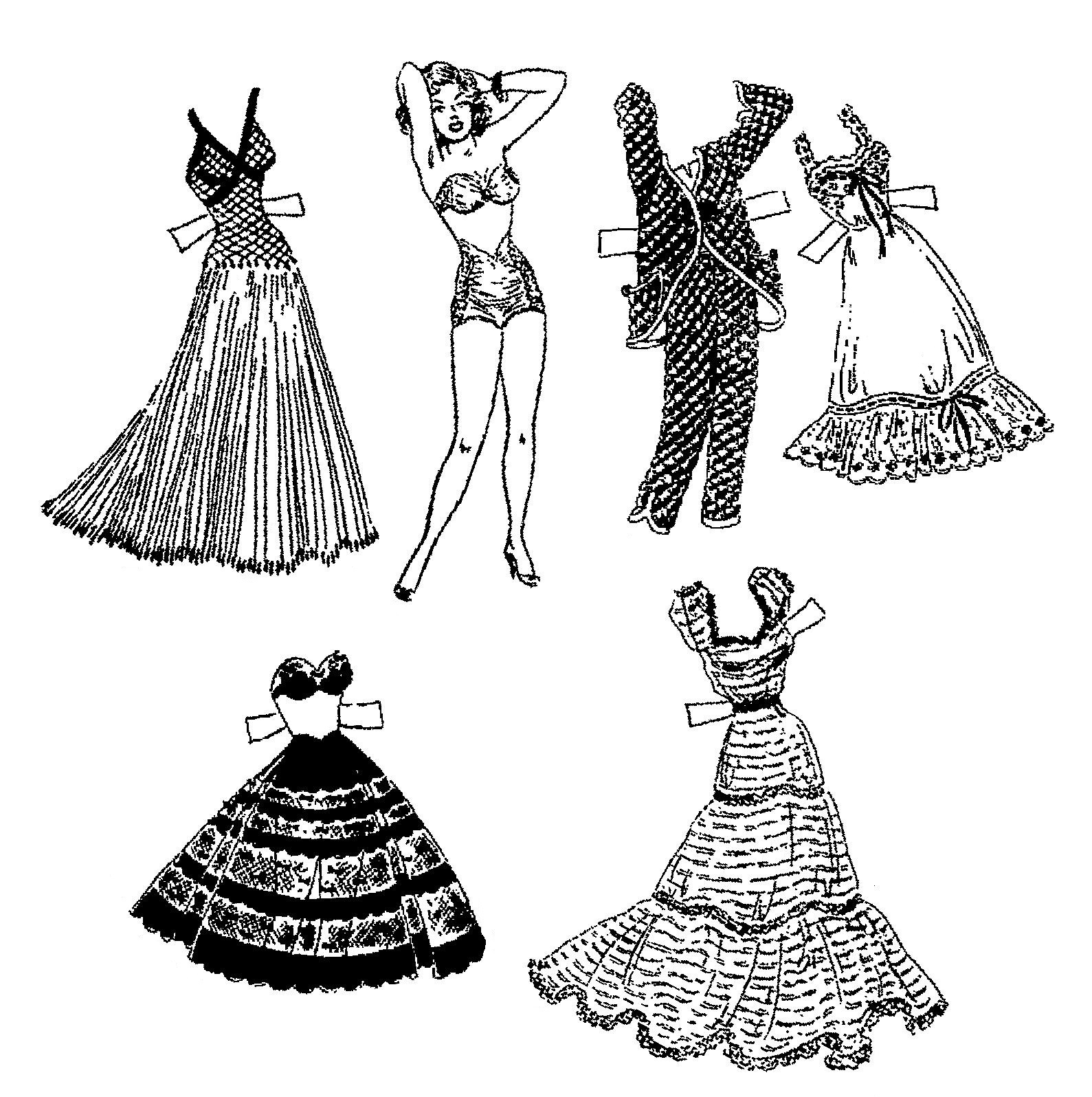Mostly Paper Dolls Too!: BRENDA STARR Comic Strip Paper Doll